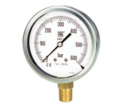 Utility Commercial Pressure Gauges +محصولات
